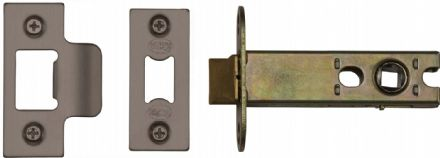 M Marcus York Security YKAL4-MB Architectural Mortice Latch 102mm Matt Bronze